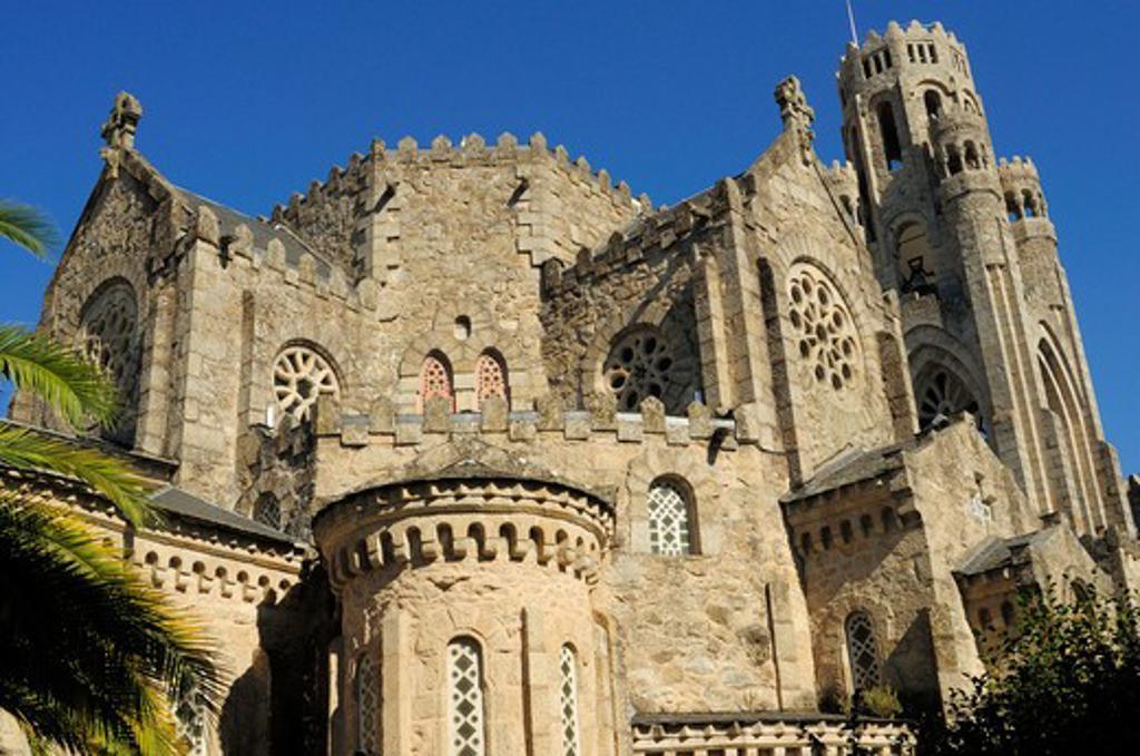 Stock Photo: 1916-6124 Spain, Galicia, Ourense, Carballino, Temple of La Vera Cruz