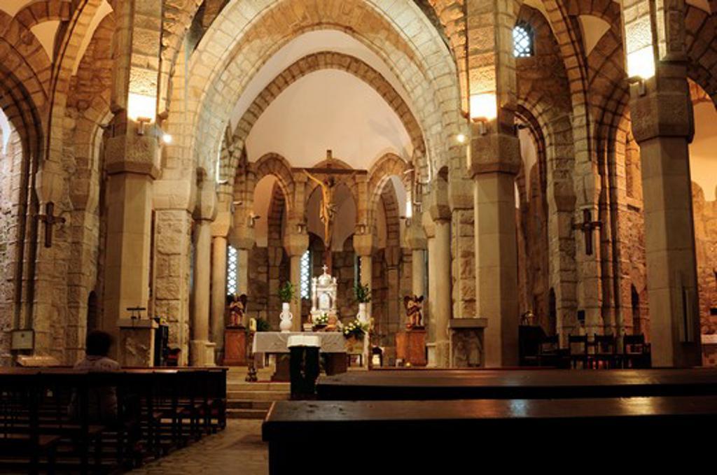 Stock Photo: 1916-6125 Spain, Galicia, Ourense, Carballino, Temple of La Vera Cruz