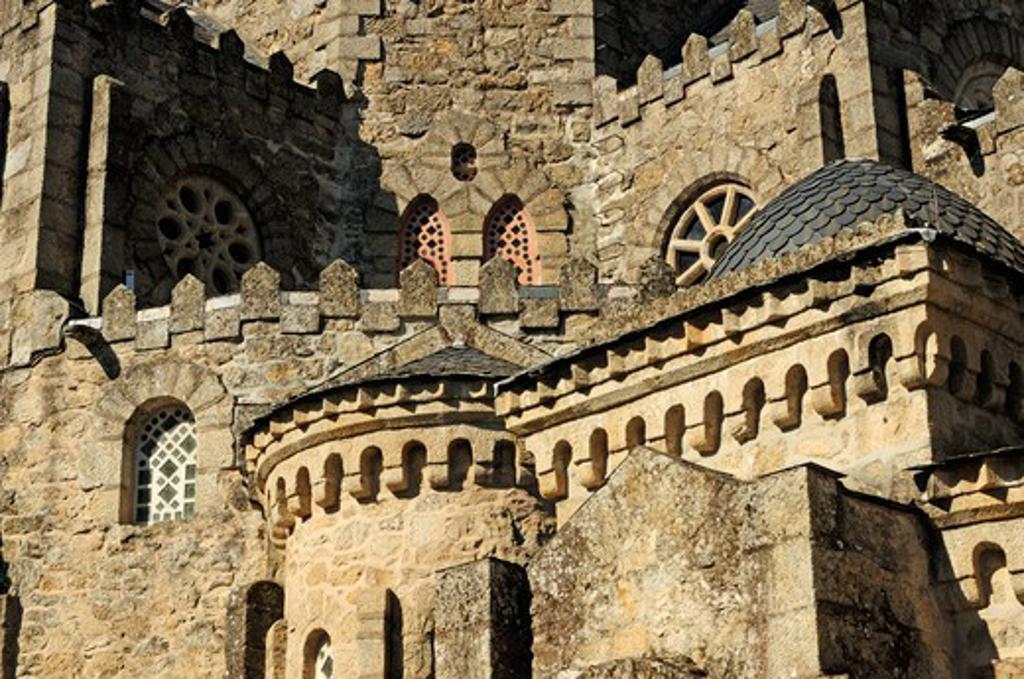 Stock Photo: 1916-6129 Spain, Galicia, Ourense, Carballino, Temple of La Vera Cruz