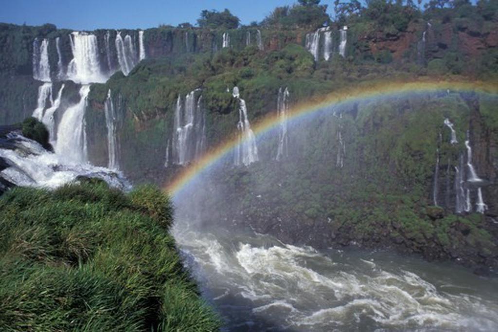 Stock Photo: 1916-7833 Argentina, Iguazu Waterfalls