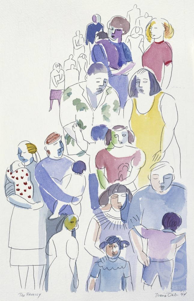 Stock Photo: 192-466 The Family