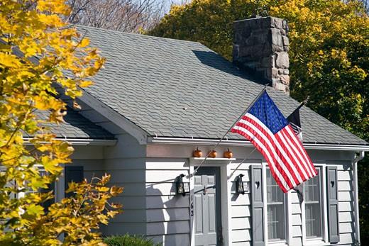 Fall scene  Connecticut  USA : Stock Photo