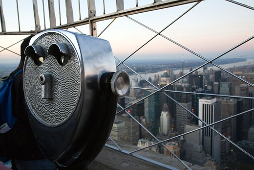 Stock Photo: 1925-1335 View from the Empire State Building  NYC  USA
