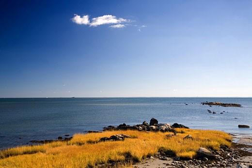 The Atlantic Ocean at Compo Beach  CT  USA : Stock Photo