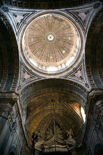 Stock Photo: 1925-1789 Dome of Estrela Basilica  Lisbon