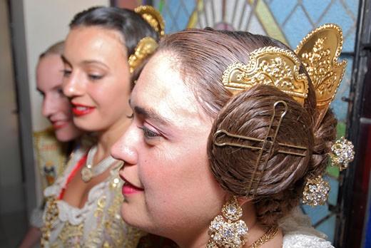 Las Fallas Valencia Las Fallas Holidays and celebrations : Stock Photo