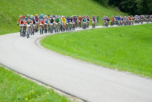 Stock Photo: 1947-1307 cycle racing