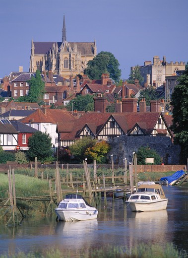 UK, West Sussex, Arundel : Stock Photo