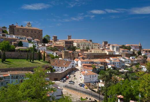 Spain, Extremadura, C·ceres : Stock Photo