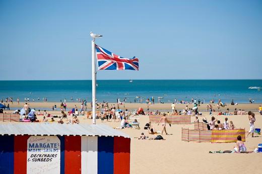 Main Sands Beach, Margate, Kent, United Kingdom : Stock Photo