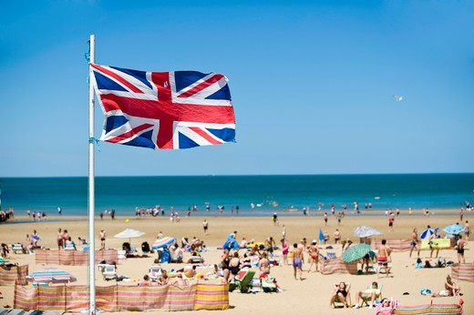 Main Sands Beach, Margate, Kent, United Kingdom : Stock Photo