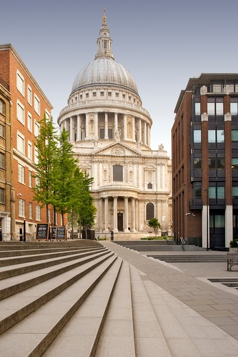 St Paul's Cathedral In London. : Stock Photo