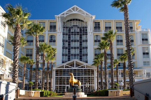 Exterior Of The Table Bay Hotel In The Waterfront In Cape Town, South Africa. : Stock Photo