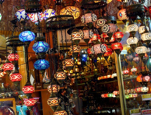 Kapali Carsi, Grand Bazaar, Istanbul : Stock Photo