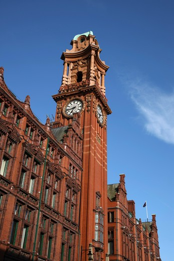 England, Manchester, Palace Hotel Fomerly Known As The Refuge Assurance Building This Is A Grade 2 Listed Building. : Stock Photo