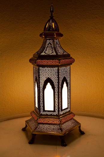 Traditional lamp. : Stock Photo