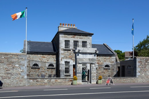 Ireland - County Kerry - Tarbert - Brideswell, 19th century jail and courthouse museum : Stock Photo