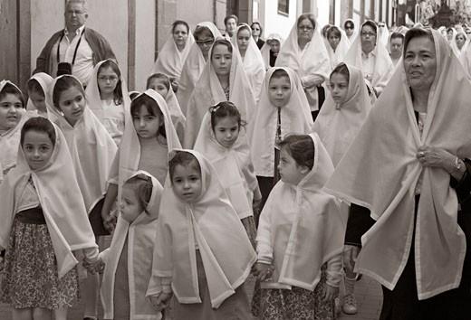 Semana Santa (Easter) Procession, Las Palmas : Stock Photo