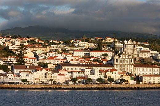 Azores, Horta, The Capital Of Faial Island. : Stock Photo