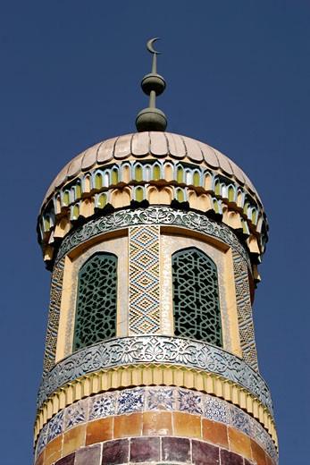 Xinjiang Province, Kashgar, Xiangfei Tomb : Stock Photo