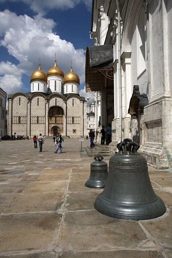 Kremlin, Assumption Cathedral : Stock Photo