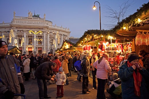 Vienna, Xmas Market 2005 : Stock Photo