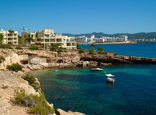 Ibiza, Cova De Ses Llegosta Sant Antoni De Portmany : Stock Photo