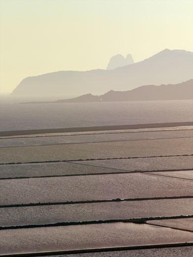 Ibiza, Las Salines Salt Flats : Stock Photo
