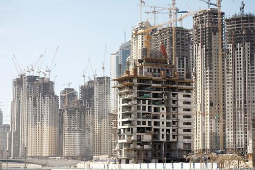Dubai Marina, New Development : Stock Photo