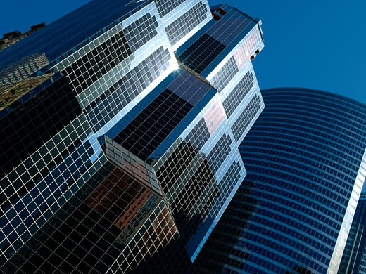 Chicago, Office Block Skyscraper : Stock Photo