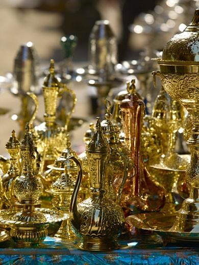 Near Khan Al Khalili Souvenirs For Sale : Stock Photo