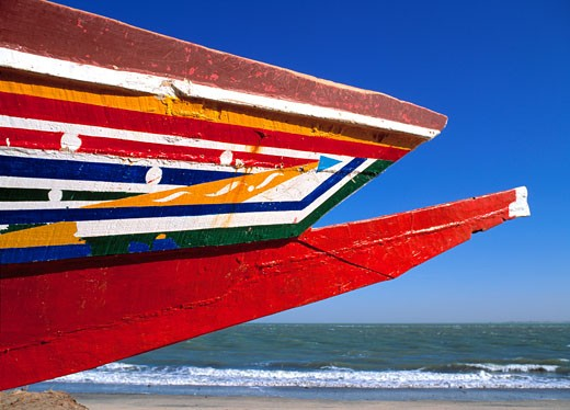 Gambia, Fishing Boat : Stock Photo