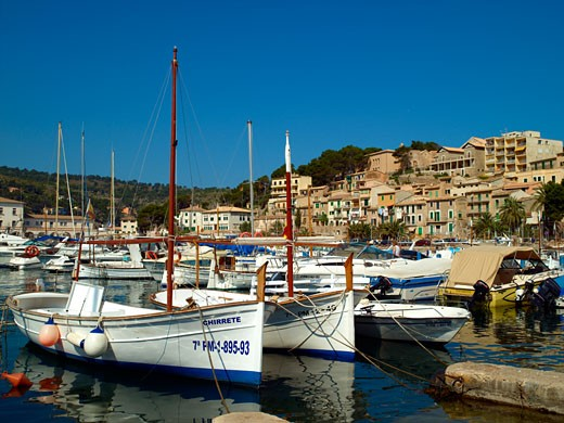 Majorca, Port De Soller : Stock Photo
