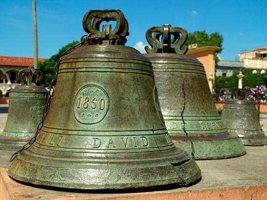 Cordoba, Zocalo Square, Church Bells : Stock Photo