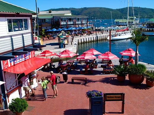 Knysna Quays Waterfront : Stock Photo