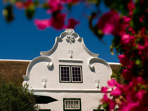 Tulbagh Dutch Building : Stock Photo