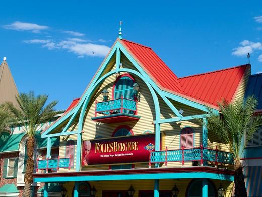Folies Bergere Tropicana Hotel Las Vegas Usa : Stock Photo