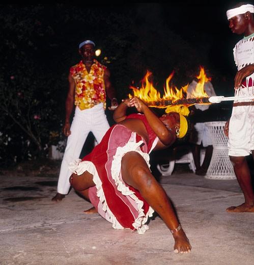 Jamaica, People, Dancer : Stock Photo