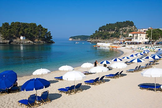 Parga, Beach : Stock Photo