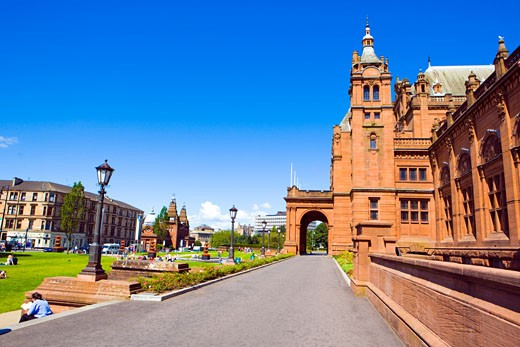 Glasgow, Kelvingrove Art Gallery : Stock Photo