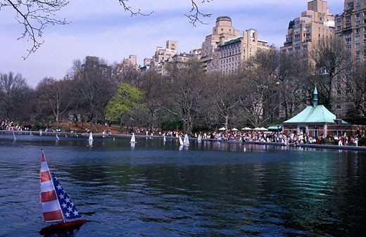 Central Park in April : Stock Photo