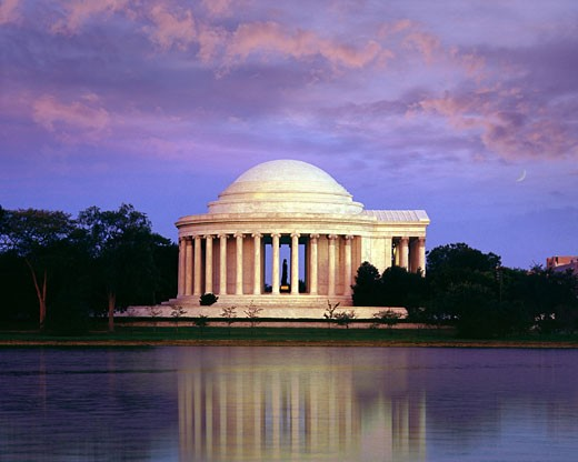 Washington, Jefferson memorial : Stock Photo
