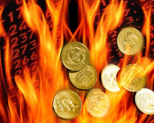 Financial Concept : Stock Photo