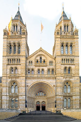Entrance To The Natural History Museum : Stock Photo