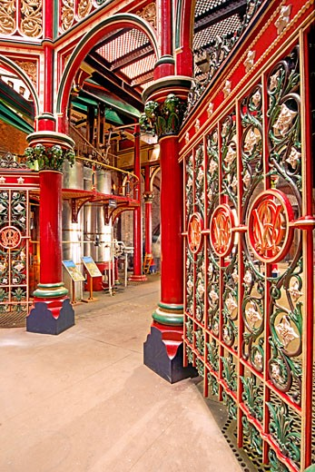Victorian-Era Crossness Pumping Station : Stock Photo