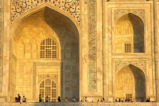Agra, Taj Mahal : Stock Photo