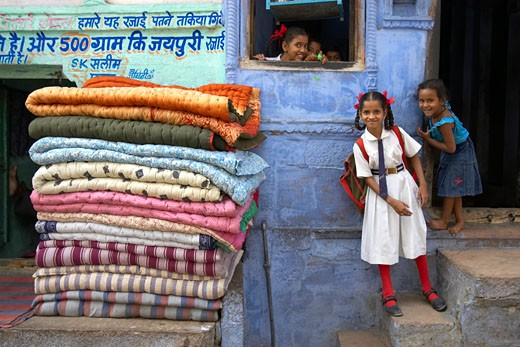 Jodhpur, Shop Exterior : Stock Photo