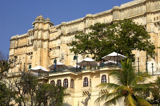 Udaipur, City Palace : Stock Photo