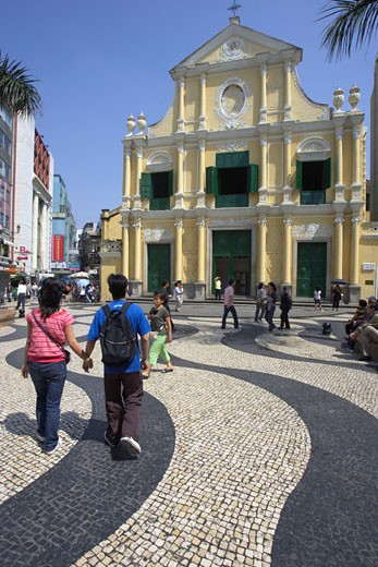 Macau, Sao Domingo Church : Stock Photo