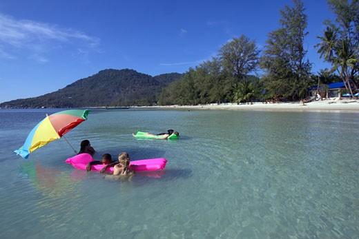 Koh Tao, Hat Sairee/Had Sai Ri Beach : Stock Photo